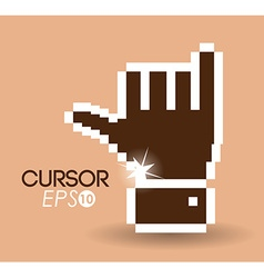 Cursor design vector