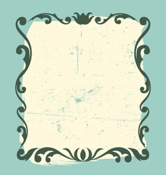 Vintage frame design element vector