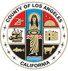 Los angeles county seal vector