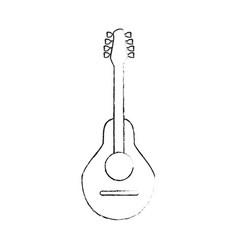 acoustic guitar instrument vector image