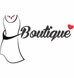 Boutique logo vector