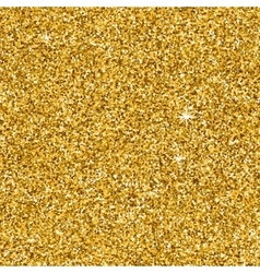 Gold glitter texture for your design Golden vector image