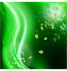 Abstract green background2 vector