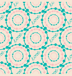 Abstract colorful hipster seamless pattern with vector