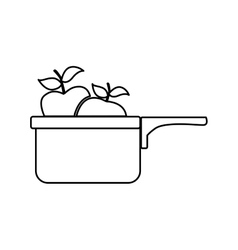 kitchen related icon image vector image