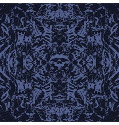 Abstract skulls vector