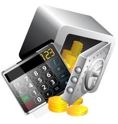 Calculator of the money vector