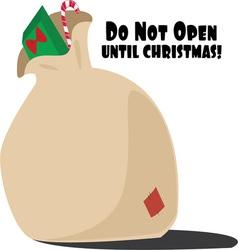 Do not open vector