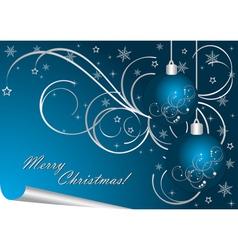 luxury Christmas background vector image vector image