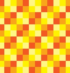 Popular summer color tone checker chess square vector