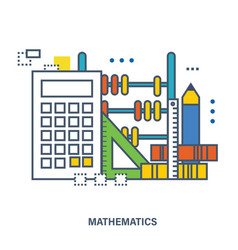 Concept of natural science of mathematics vector
