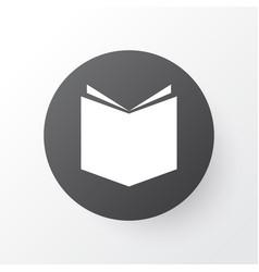 Textbook icon symbol premium quality isolated vector