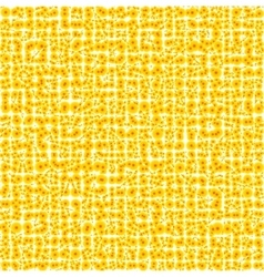 Abstract yellow background for design vector image