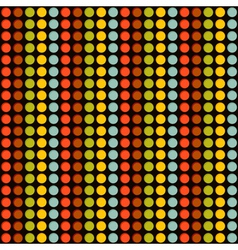 pattern with color circles vector image vector image