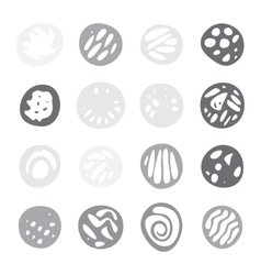 Set Of Hand Drawn Doodle Borders vector image vector image