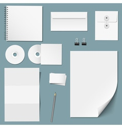 Set of design corporate templates vector