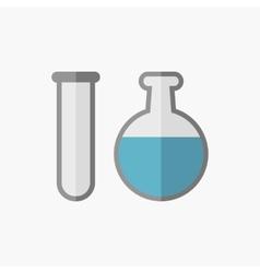 Biochemistry flat icon vector