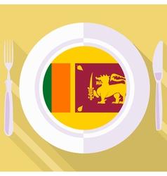 kitchen of Sri Lanka vector image