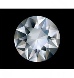 vector diamond vector image