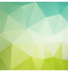 Colored triangular background vector