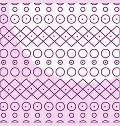 Elegant geometric pattern background vector
