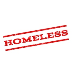 Homeless watermark stamp vector