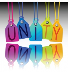 Unity tags vector