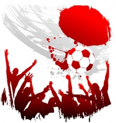 world cup japan vector image vector image
