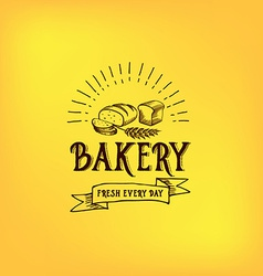 Bread and bakery design sketch doodle vector