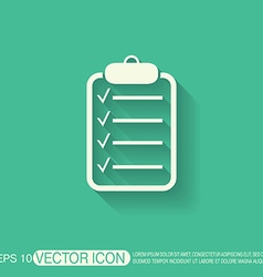 Sheet of paper vector