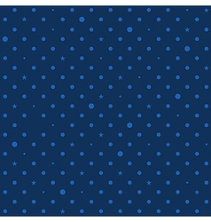 Navy royal blue star polka dots background vector