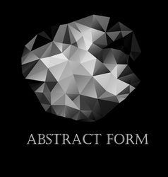 abstract form vector image vector image