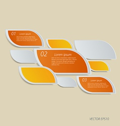 for your business presentation vector image vector image