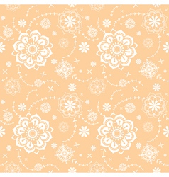 seamless floral decorative texture vector image vector image