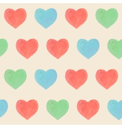 Seamless marker heart pattern vector