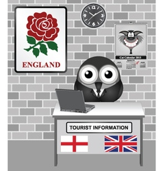 England tourist information vector