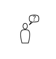 customer icon vector image