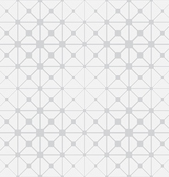Modern stylish pattern with squares triangles and vector image vector image