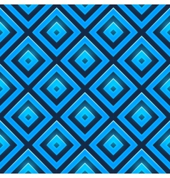 Seamless pattern with glossy squares vector image