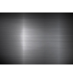 Shiny metal texture background vector image