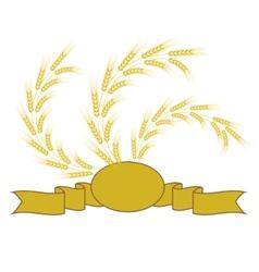 Wheat symbol vector