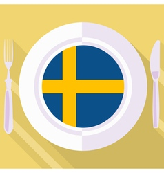 Kitchen of sweden vector