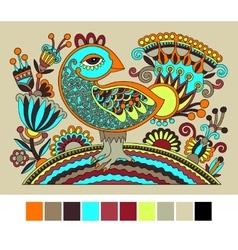 ukrainian hand drawn ethnic decorative pattern vector image