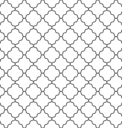 Geometric seamless pattern in islamic style vector image vector image
