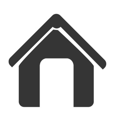 House or home theme design icon vector image