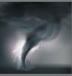 Tornado cyclone composition vector