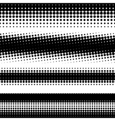 Abstract halftone vector
