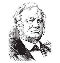 alexander ramsey vintage vector image vector image