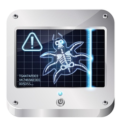 bugscan vector image vector image