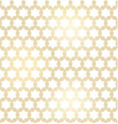 golden texture oriental geometric seamless pattern vector image